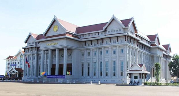 Vietnam entrega a Laos nueva sede de la Asamblea Nacional hinh anh 1
