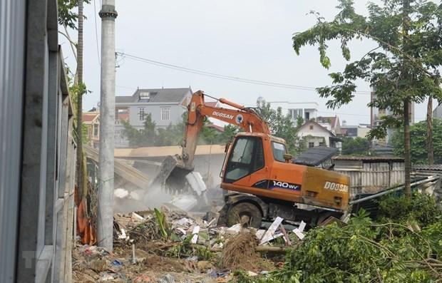 Provincia vietnamita de Vinh Phuc acelera liberacion de terreno para desarrollo socioeconomico hinh anh 1