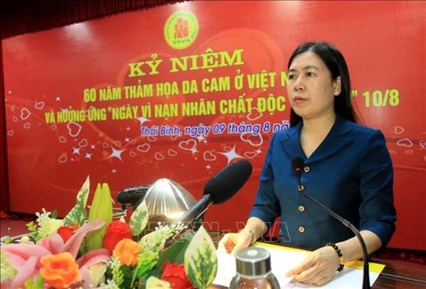 Provincia vietnamita de Thai Binh presta atencion a victimas del Agente Naranja hinh anh 1