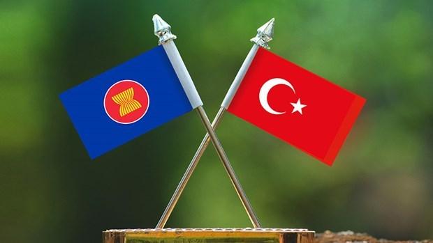 Canciller turco evalua perspectivas de relaciones con ASEAN hinh anh 1