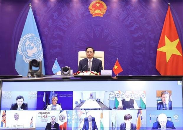 Vietnam exhorta a solucion global para fortalecer seguridad maritima hinh anh 1
