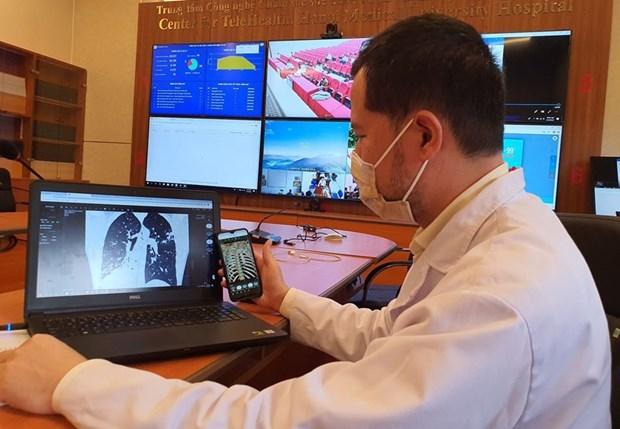 Promueve Vietnam servicios de telesalud en tratamiento del COVID-19 hinh anh 1