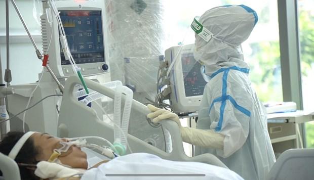 Ciudad Ho Chi Minh reajusta estrategia de lucha contra pandemia hinh anh 1