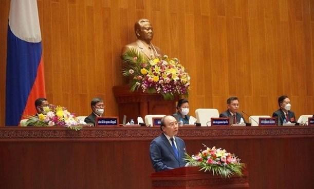 Vietnam concede gran importancia a nexos con Laos, segun presidente Nguyen Xuan Phuc hinh anh 3