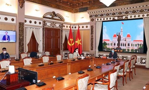 Ciudad Ho Chi Minh asiste a plenario de Asociacion de Gobiernos regionales de Asia Nororiental hinh anh 2