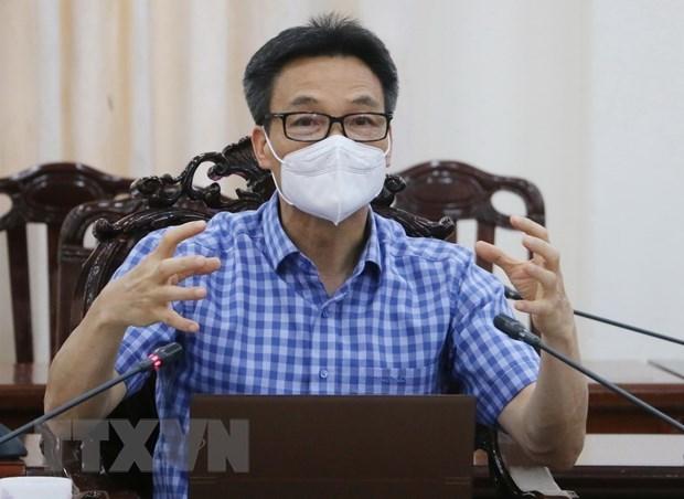 """Implementacion sincronica de """"estrategia regional"""" para controlar el COVID-19 en el sur de Vietnam hinh anh 1"""