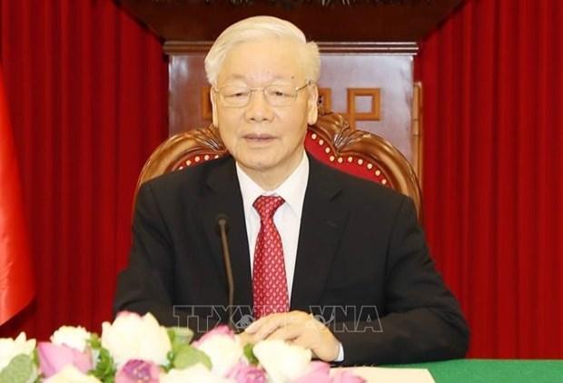 Articulo del maximo dirigente partidista de Vietnam arroja luz sobre el camino al socialismo hinh anh 1