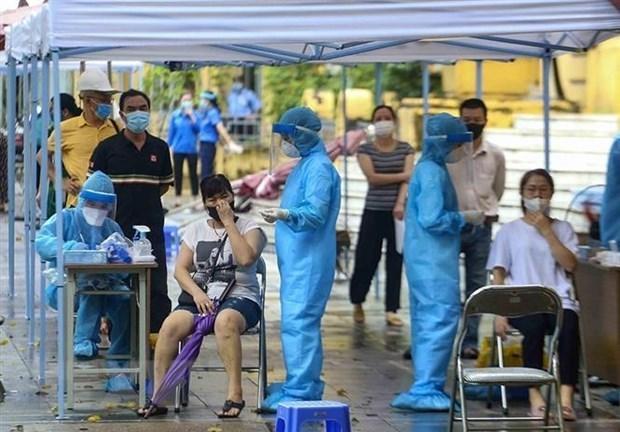 Vietnam registra mas de ocho mil 700 nuevos casos del COVID-19 hinh anh 1