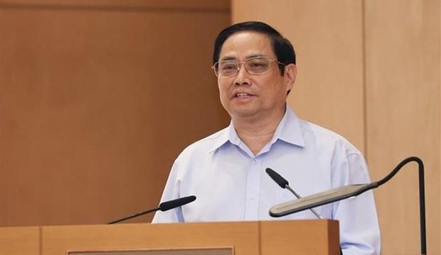 Primer ministro vietnamita aboga por construir un gobierno innovador, integral, con accion eficaz hinh anh 1
