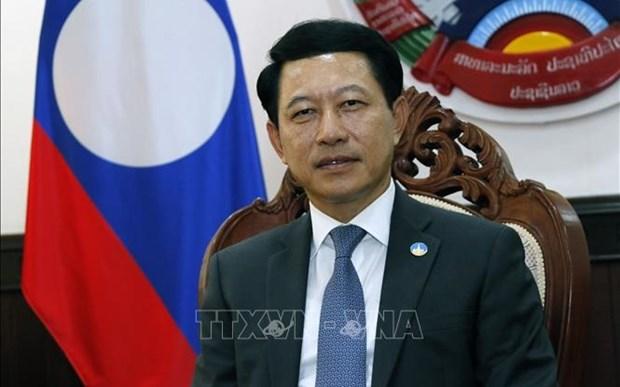 Canciller laosiano alaba relaciones especiales entre su pais y Vietnam hinh anh 1