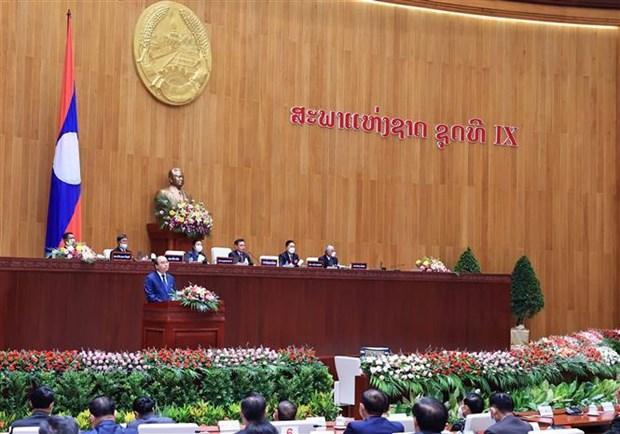 Canciller laosiano alaba relaciones especiales entre su pais y Vietnam hinh anh 2