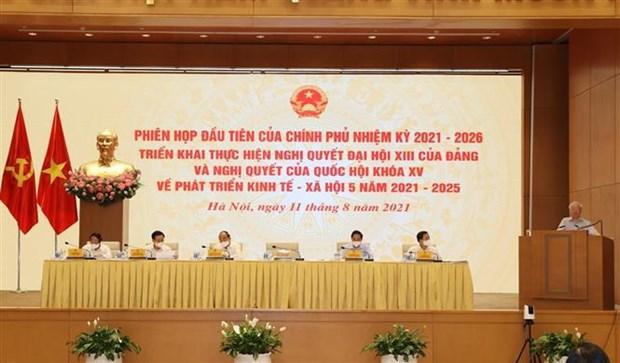 Primer ministro vietnamita aboga por construir un gobierno innovador, integral, con accion eficaz hinh anh 2