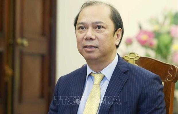 Visita de presidente vietnamita a Laos fomenta relaciones tradicionales bilaterales, afirma vicecanciller hinh anh 2
