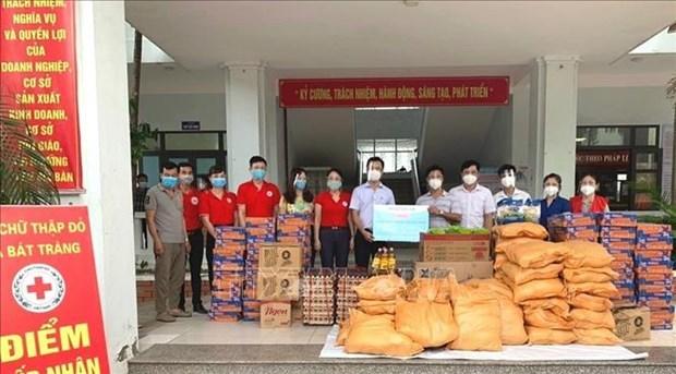 Cruz Roja de Vietnam lanza campana para apoyar a personas afectadas por COVID-19 hinh anh 1