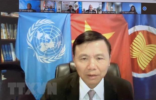 Vietnam: Medidas antiterrorismo deben respetar Carta de ONU hinh anh 1