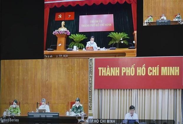 Instan a Ciudad Ho Chi Minh a reforzar medidas contra COVID-19 hinh anh 2
