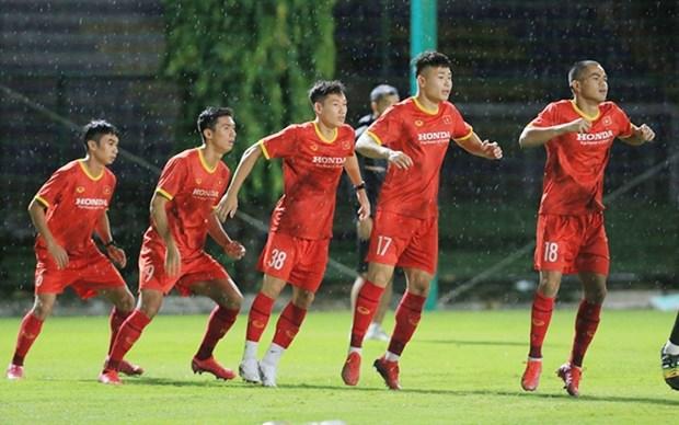 Seleccion de futbol sub-22 de Vietnam se prepara para ronda clasificatoria de Copa Asiatica 2022 hinh anh 1