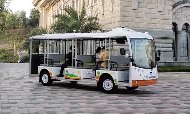 Vingroup prueba vehiculos autonomos en ciudad de Nha Trang hinh anh 1