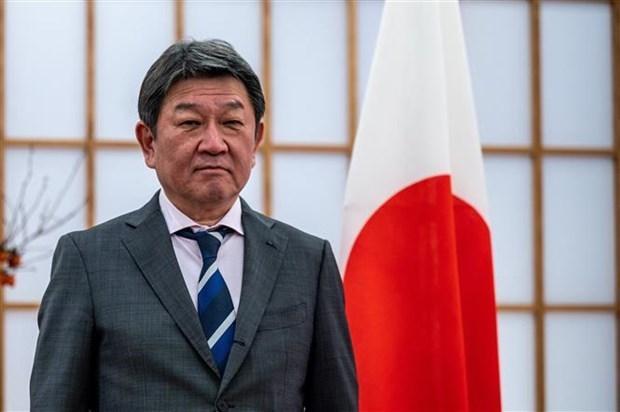 Japon reitera apoyo a actividades de enviado especial de la ASEAN en Myanmar hinh anh 1