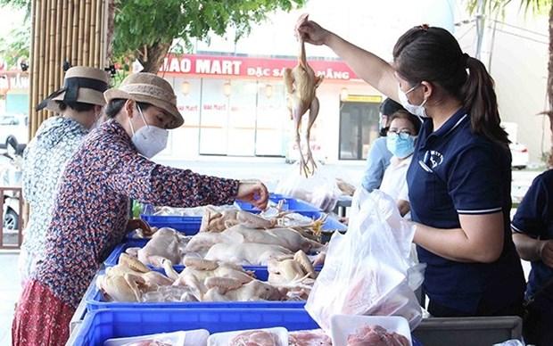 Ciudad vietnamita de Da Nang lanza tiendas ambulantes hinh anh 1