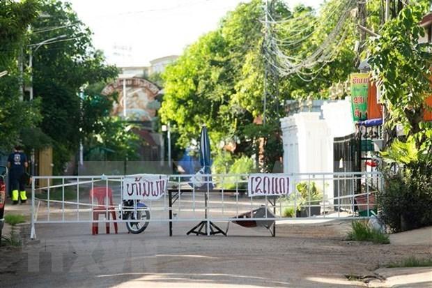 Provincias laosianas imponen restriccion para frenar la propagacion de COVID-19 hinh anh 1