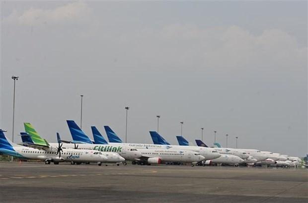 Industria de aviacion de Indonesia enfrenta desafios en medio de pandemia hinh anh 1