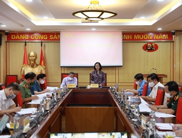 Partido Comunista de Vietnam continua rectificacion de sus filas hinh anh 1
