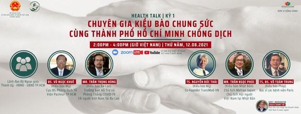 Vietnamitas en ultramar se unen para erradicar COVID-19 en Ciudad Ho Chi Minh hinh anh 1