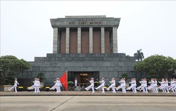 Mausoleo de Ho Chi Minh: Espacio sagrado del pueblo vietnamita hinh anh 1