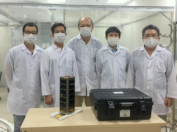 Preparan lanzamiento del satelite vietnamita NanoDragon hinh anh 2