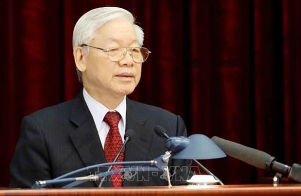 Periodico aleman resalta articulo del maximo dirigente partidista de Vietnam sobre camino al socialismo hinh anh 1