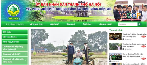 Lanzan sitio web de Hanoi sobre programa
