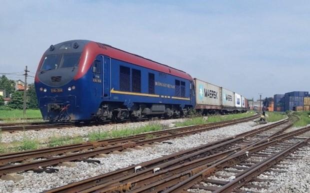Destacan oportunidades para sector ferroviario de Vietnam en medio del COVID-19 hinh anh 1