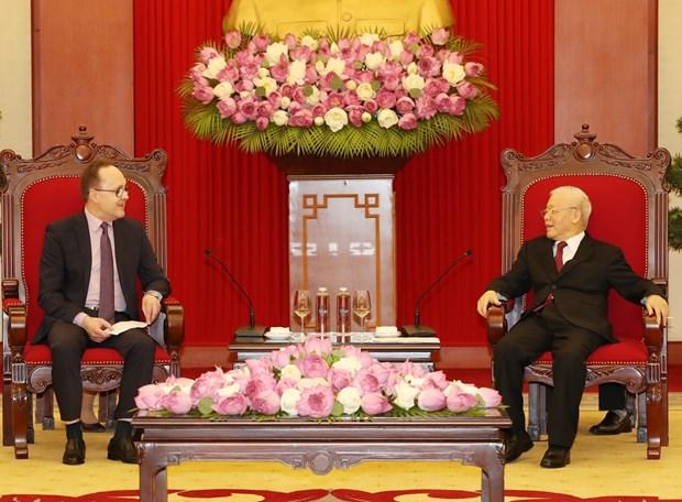 Destaca maximo dirigente partidista de Vietnam relaciones con Rusia hinh anh 1