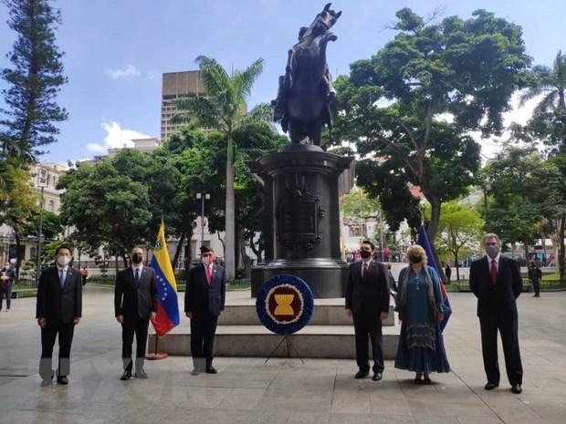 Celebran el aniversario 54 de la fundacion de ASEAN en Venezuela hinh anh 1