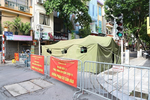 Suministran materiales para la lucha contra el COVID-19 en Ciudad Ho Chi Minh hinh anh 1