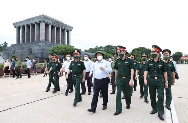 Primer ministro de Vietnam urge a una mejor preservacion de Mausoleo de Ho Chi Minh hinh anh 1