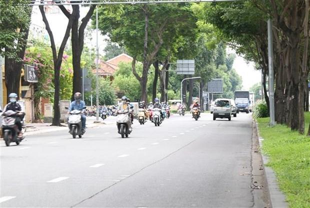 Ciudad Ho Chi Minh extendera distanciamiento social por un mes mas hinh anh 1