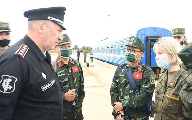 Expectativas en actuacion del equipo de Vietnam en Juegos Militares Internacionales 2021 hinh anh 1