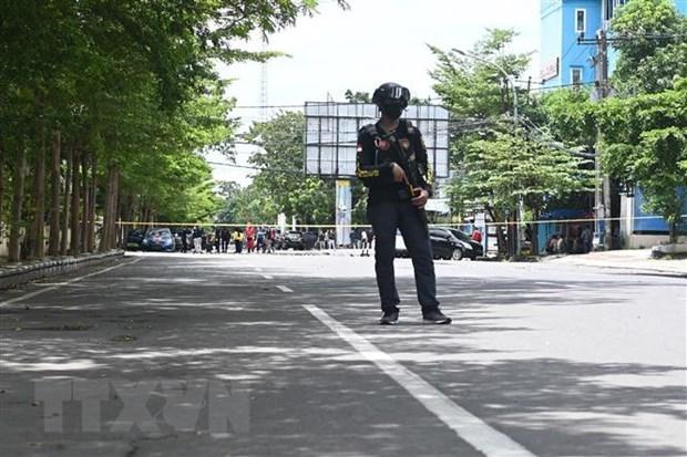 Indonesia arresta a cuatro presuntos terroristas hinh anh 1