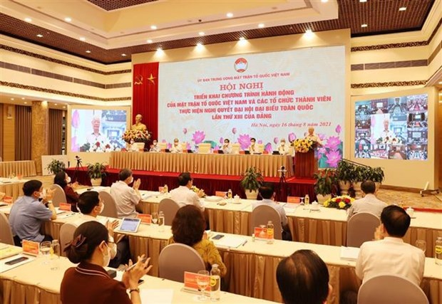 Exige maximo dirigente partidista de Vietnam consolidar gran unidad nacional hinh anh 2