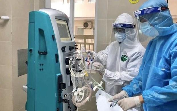 Hanoi prepara suministro de oxigeno medico para pacientes graves del COVID-19 hinh anh 1