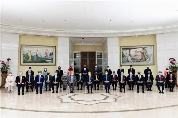 Renuncian el primer ministro y el gabinete de Malasia hinh anh 1