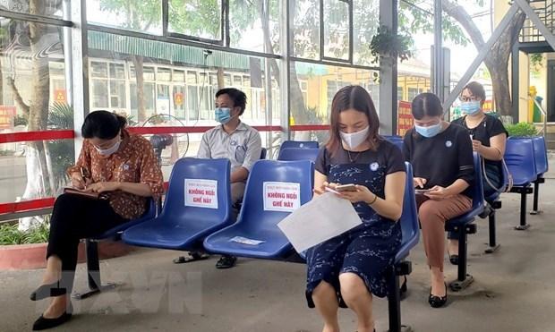 COVID-19: Vinh Phuc garantiza seguridad de tratamientos medicos en establecimientos sanitarios hinh anh 1