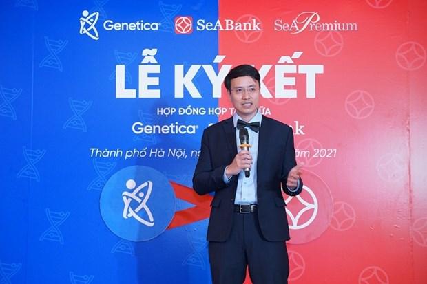 Un vietnamita presenta al mundo productos a partir de genes hinh anh 2