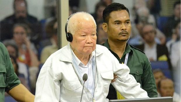 Abren juicio de apelacion final contra exlider de Khmer Rojo hinh anh 1