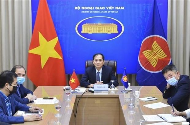 Moviliza ASEAN asistencia humanitaria para Myanmar hinh anh 1