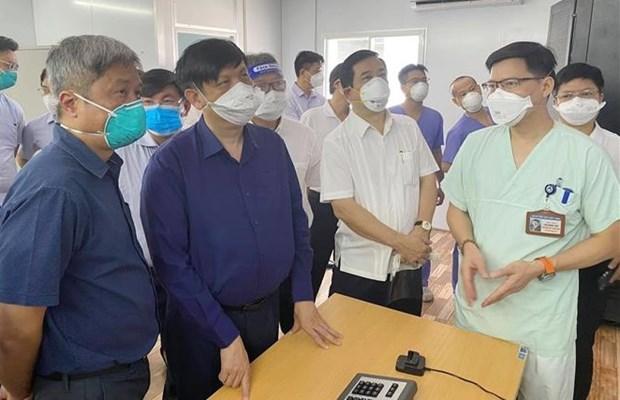 Ministerio de Salud insta garantizar bienestar social en Ciudad Ho Chi Minh hinh anh 1