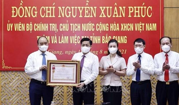 Enaltecen a provincia vietnamita de Bac Giang por logros en lucha antipandemica hinh anh 1