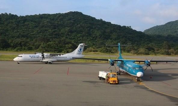 Aeropuerto vietnamita de Con Dao por atender dos millones de pasajeros al ano hinh anh 1